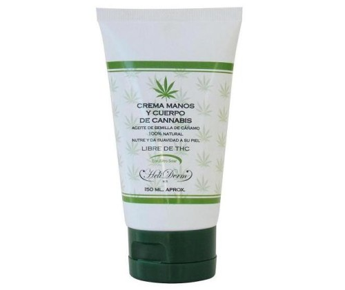crema de cannabis de manos