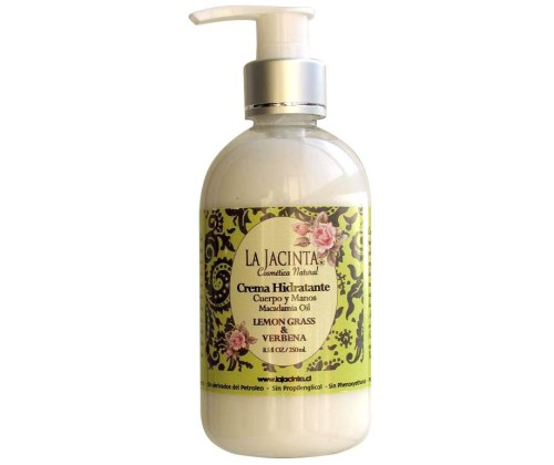 crema hidratante de lemongrass