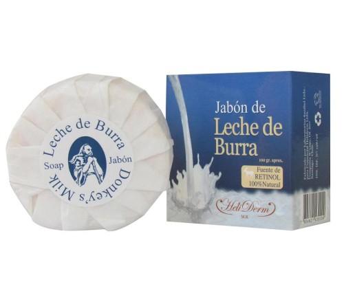 jabón de leche de burra