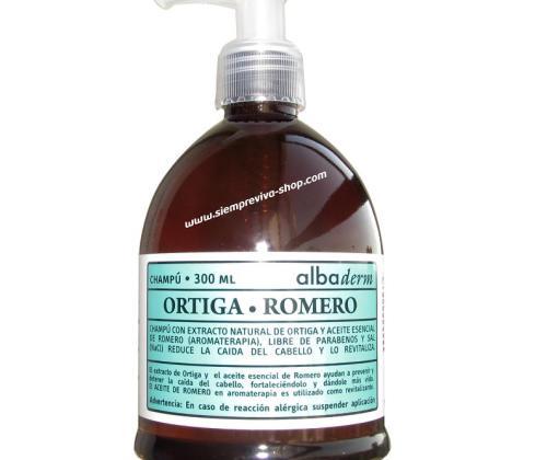 champú ortiga romero
