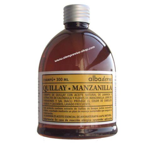 champú quillay manzanilla