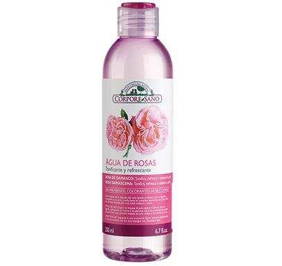 Agua de rosas tonificante y refrescante
