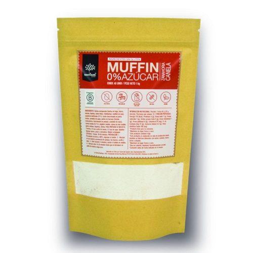mezcla muffin zanahoria canela 0% azúcar