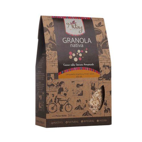 granola cacao nibs quinoa amaranto